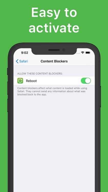 Reboot: Porn blocker