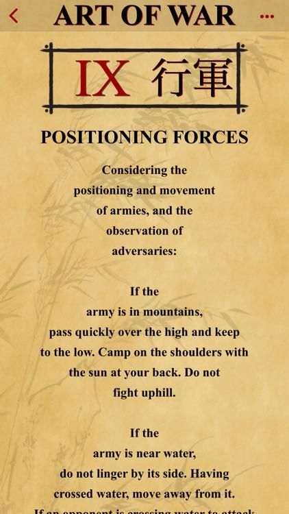The Art of War Lite screenshot-8