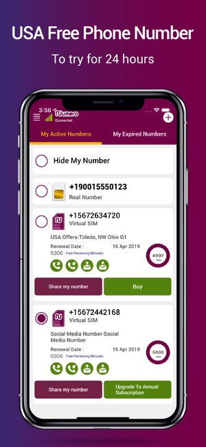 Numero: Virtual Phone Number on the App Store