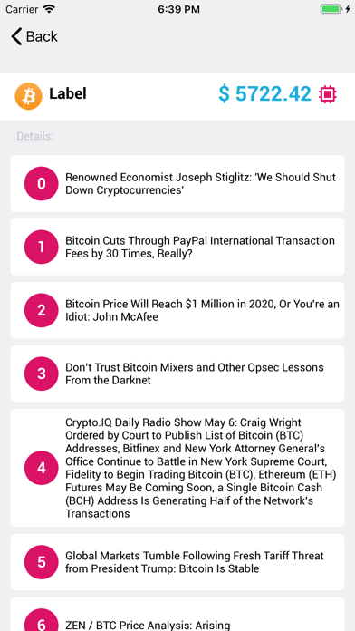 Screenshot #2 pour Mycoins - coins in your pocket