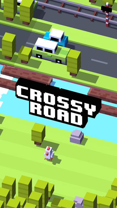 Crossy Road Screenshot on iOS