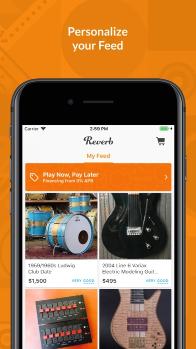 Download Reverb.com — Buy & Sell Gear for Pc
