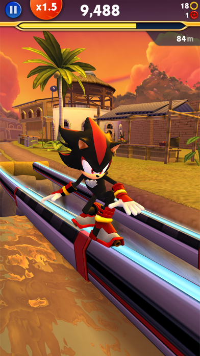 Screenshot of Sonic Dash 2: Sonic Boom2