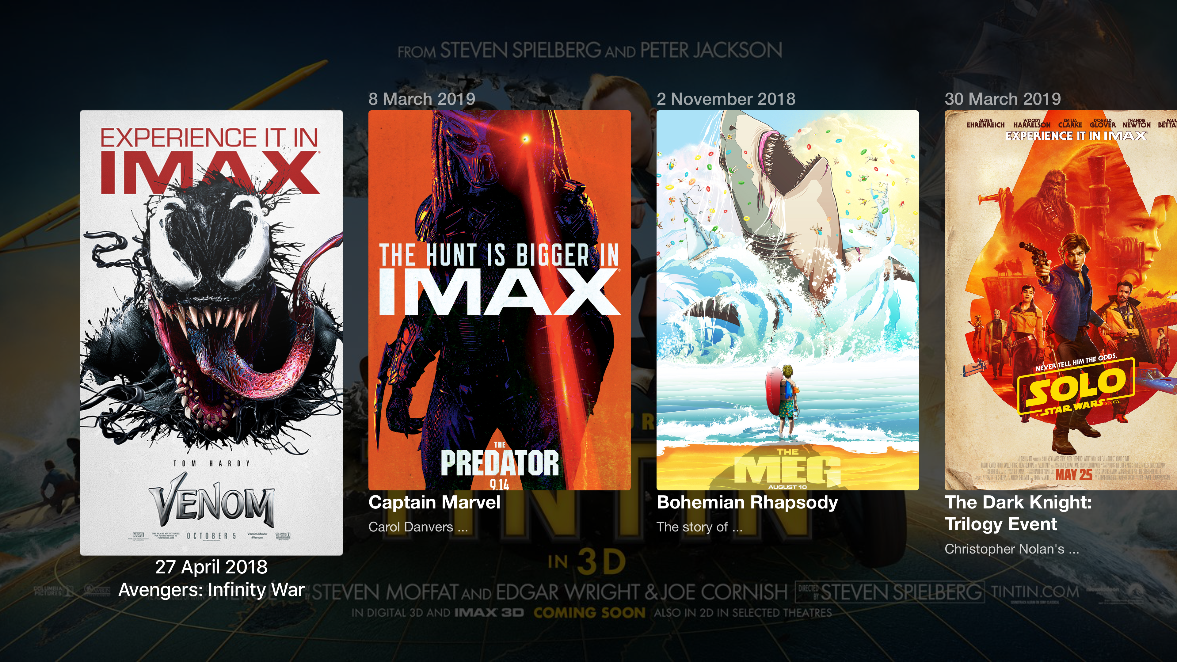 IMAX Movies - Art, Cover, Film screenshot 1