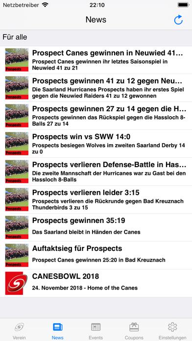 Screenshot #3 pour Saarland Hurricanes