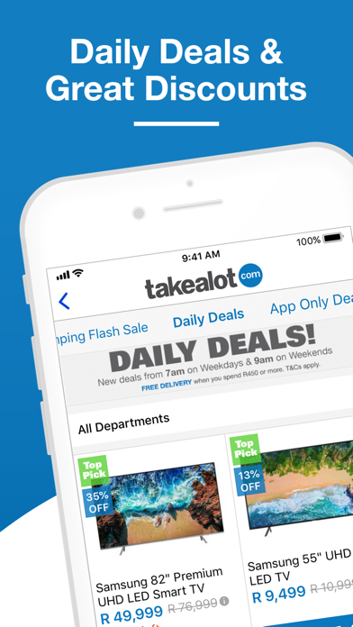 Screenshot for Takealot - Mobile Shopping App in South Africa App Store