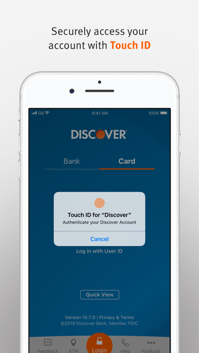 Discover Mobile review screenshots