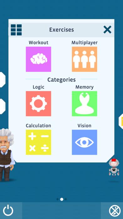 Einstein™ Brain Training HD Screenshots
