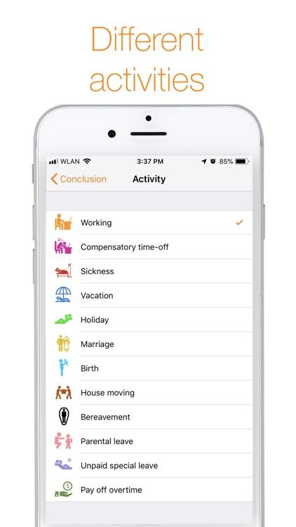 myWork - Time tracking screenshot-7