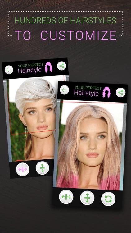 Perfect Hairstyle-Women & Men screenshot-6