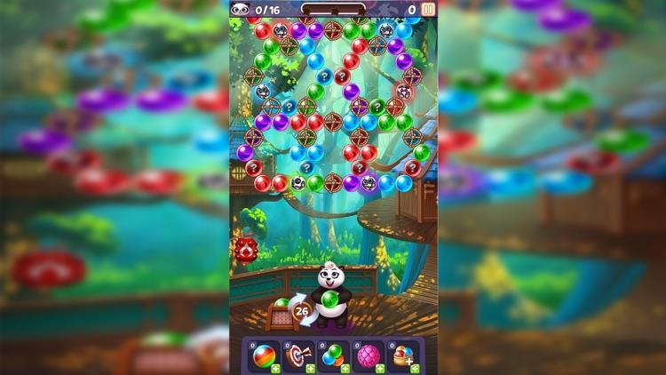 Panda Pop! Bubble Shooter Game screenshot-6