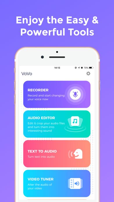 Vovo - Celebrity Voice Changer Screenshot