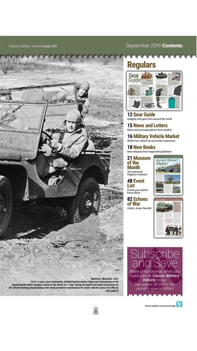 Classic Military Vehicle Mag review screenshots