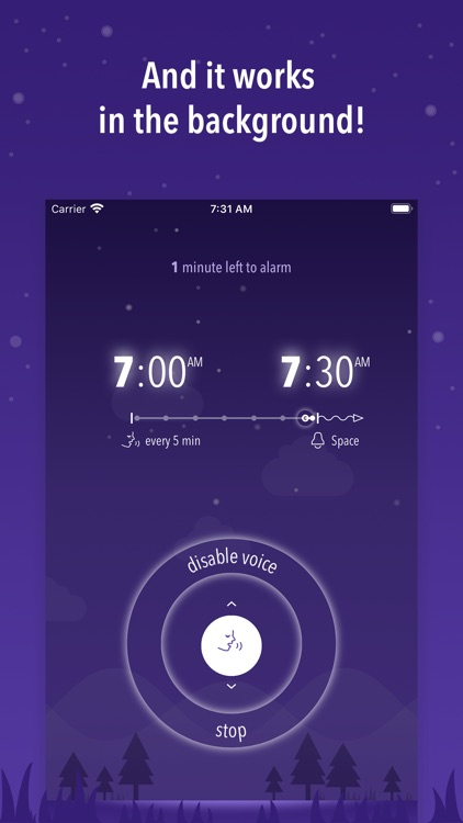 Simple Talking Alarm Clock Pro screenshot-5
