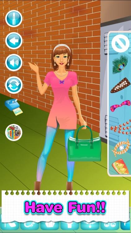 Back To School Makeup Games screenshot-9