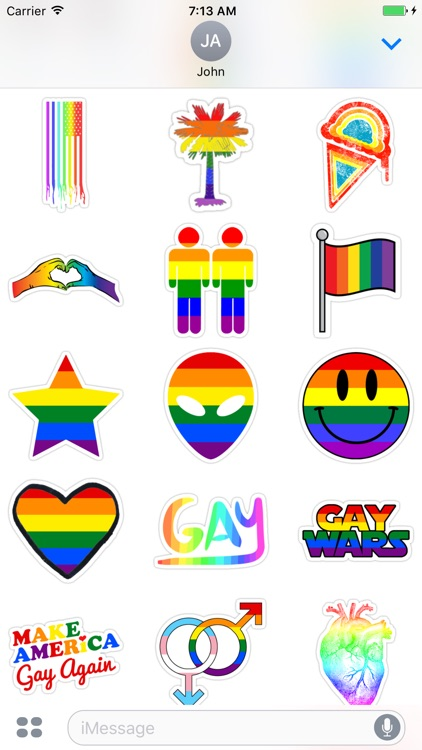 Gay - Stickers for iMessage