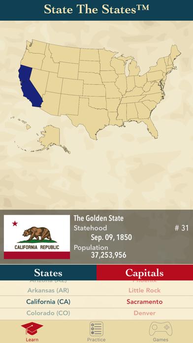 State The States and Capitalsのおすすめ画像1
