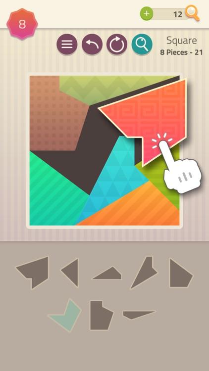 Polygrams - Tangram Puzzles screenshot-0