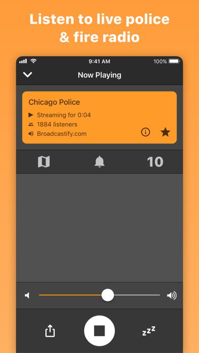 Scanner Radio: Police & Fire Screenshot