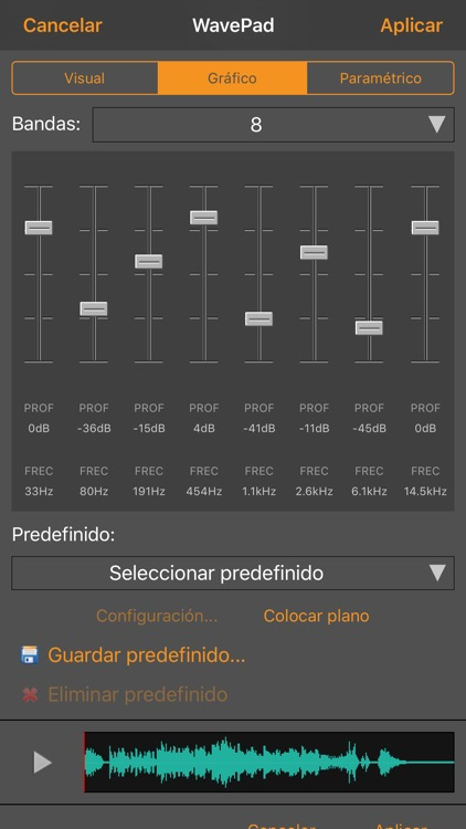 WavePad, editor de audio screenshot-4