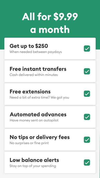 Brigit: $250 Between Paychecks screenshot-5