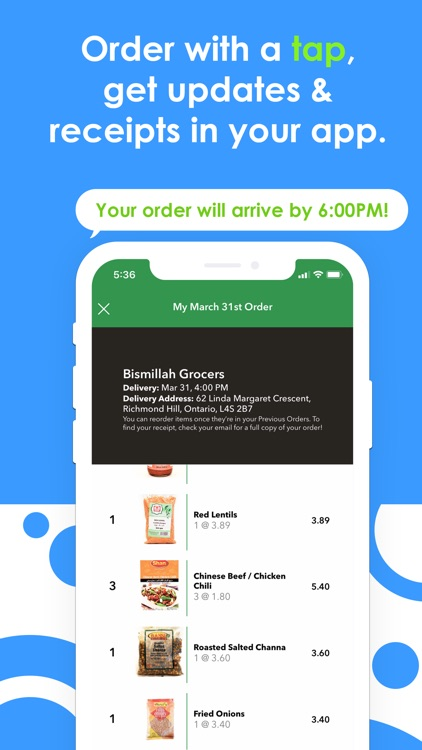 Tasteport: Grocery Delivery screenshot-4