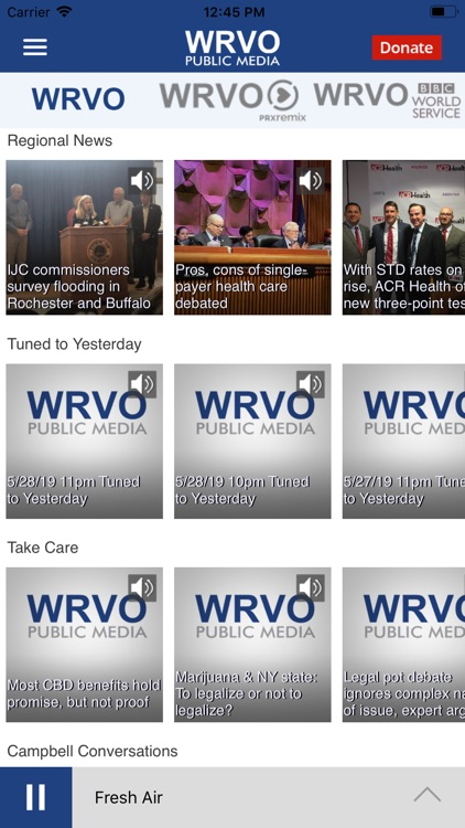 WRVO Public Radio App screenshot-1