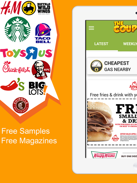 The Coupons App screenshot