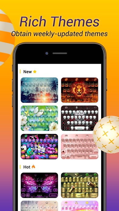 Avatar Keyboard-Themes, Emojis-6