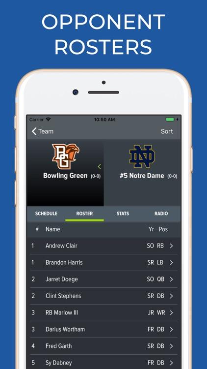 Notre Dame Football screenshot-7
