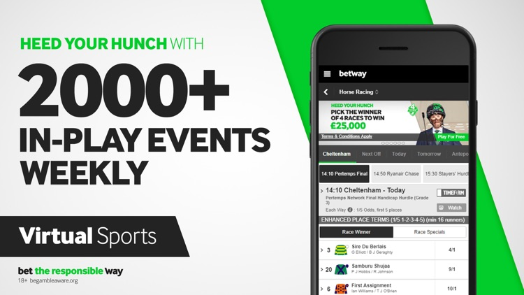 Betway - Live Sports Betting screenshot-3