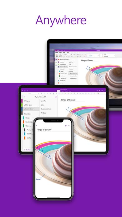 Microsoft OneNote screenshot four
