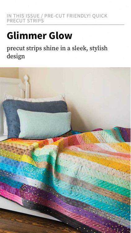 McCall's Quick Quilts Magazine screenshot-4