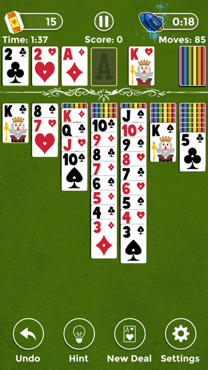 Mighty Solitaire screenshot-3