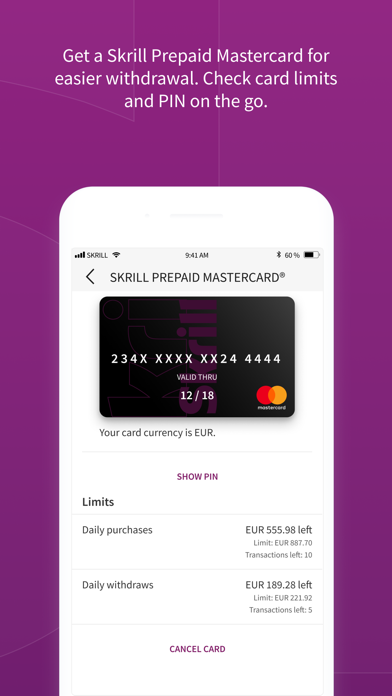 Skrill Change Currency