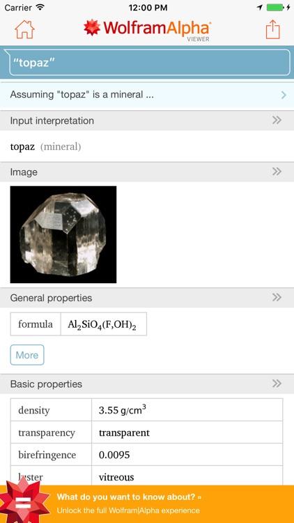 WolframAlpha Viewer screenshot-4