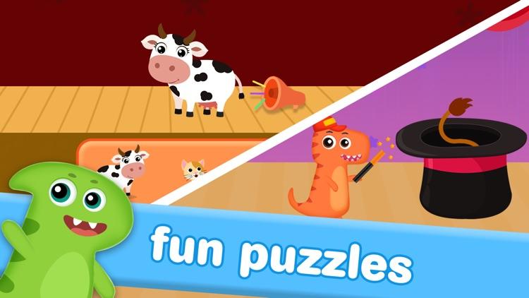 Dino Preschool Learning Games screenshot-5