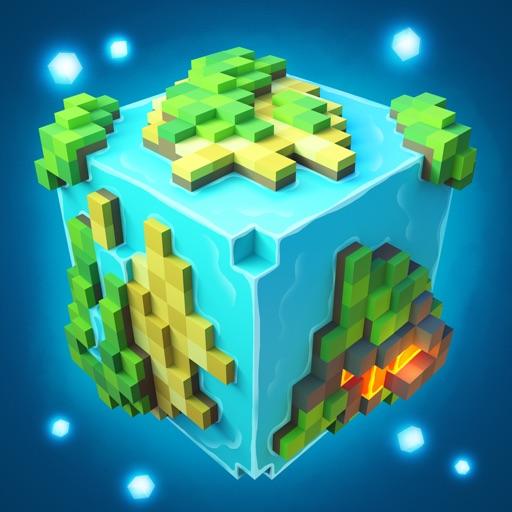 Planet of Cubes Выживание