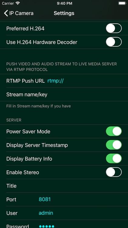 IP Camera Pro screenshot-4