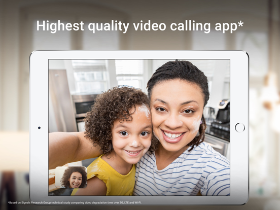 iPad Image of Google Duo