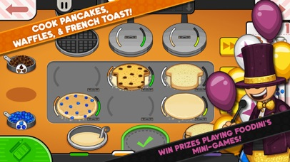 Screenshot for Papa's Pancakeria To Go! in United States App Store