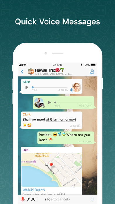 Screenshot for BOTIM - video calls and chat in Australia App Store