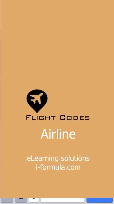 flight codes airlineのおすすめ画像1