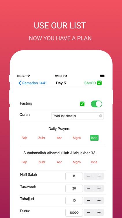 Ramadan Checklist screenshot-4