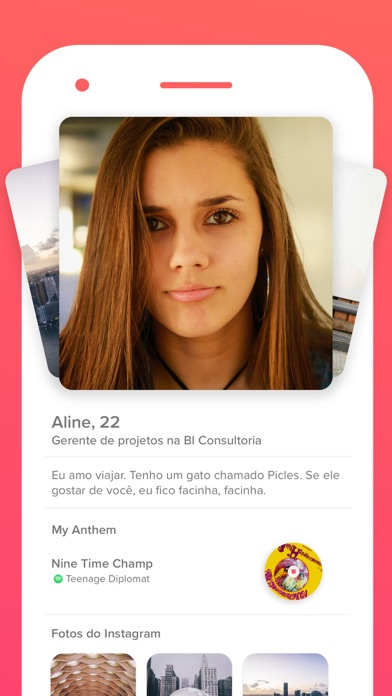 Screenshot for Tinder in Brazil App Store