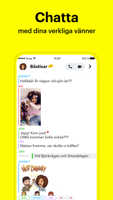 Snapchat på PC