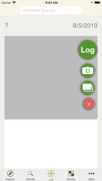 FieldLog screenshot #2