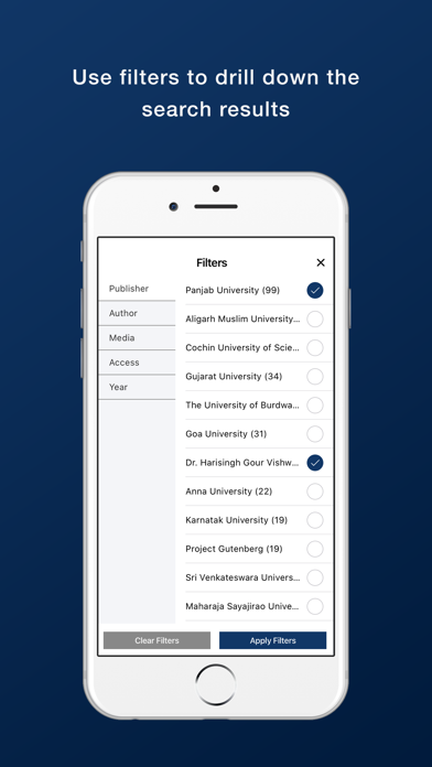 Bennett University Library screenshot 6