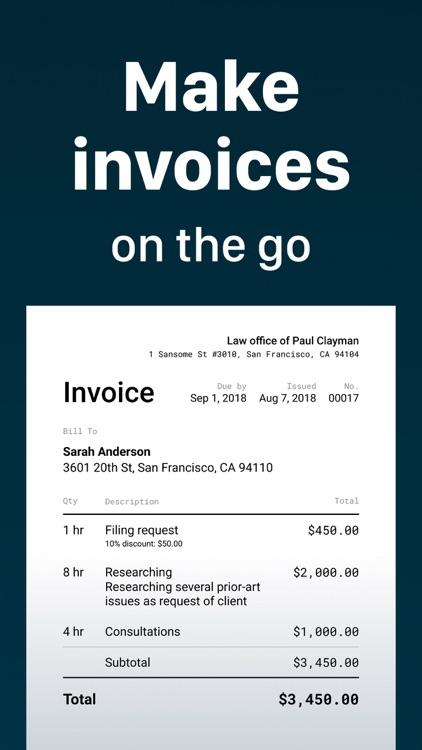Invoice Maker. screenshot-0