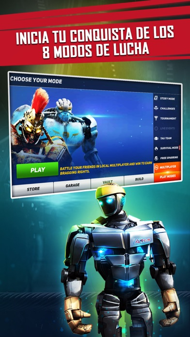 Screenshot for Real Steel in Chile App Store